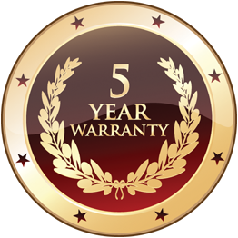 Five Year Warrenty